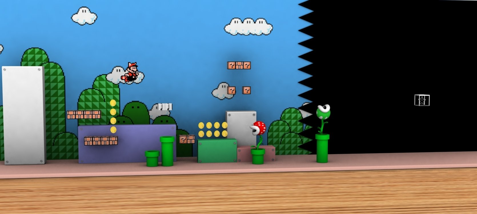 Super Mario Bros 3 Wallpaper And Background Image 1670x750 Id