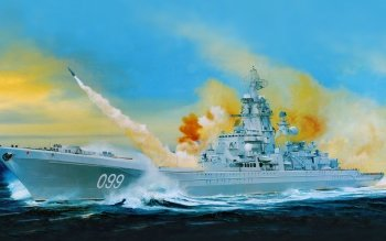Military - Russian Battlecruiser Pyotr Velikiy Wallpapers and Backgrounds ID : 518289