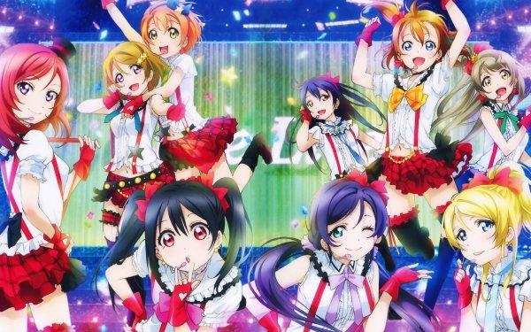 Anime Love Live! Maki Nishikino Hanayo Koizumi Nozomi Tojo Kotori Minami Nico Yazawa Eri Ayase Rin Hoshizora Honoka Kousaka Umi Sonoda Fond d'écran HD | Arrière-Plan