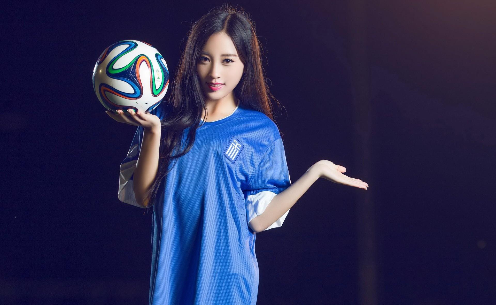 Soccer Girls Wallpaper Free: Asian Full HD Wallpaper And Background