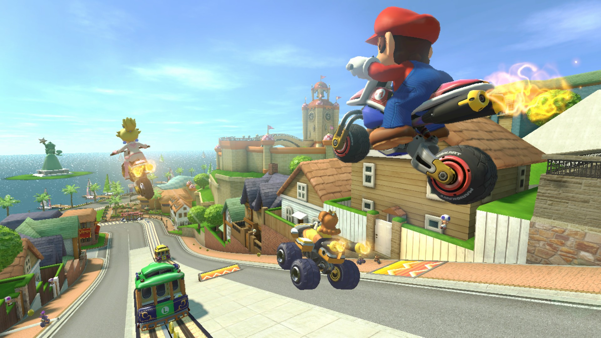 Mario Kart 8 Background: Mario Kart 8 HD Wallpaper