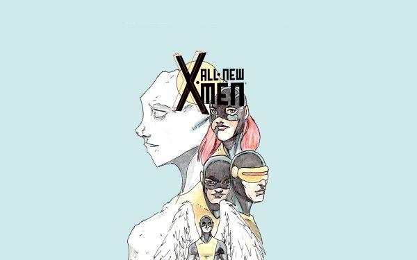 Comics All New X-Men X-Men Cyclops Warren Worthington III Angel Beast Iceman Marvel Girl Marvel Comics Jean Grey HD Wallpaper | Background Image