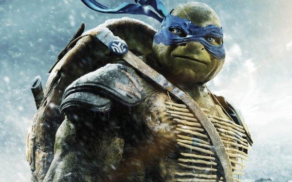 Movie Teenage Mutant Ninja Turtles (2014) Teenage Mutant Ninja Turtles Leonardo HD Wallpaper | Background Image