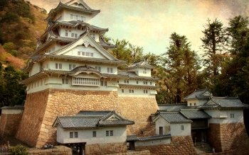 Man Made - Himeji Castle Wallpapers and Backgrounds ID : 522056