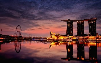 Man Made - Marina Bay Sands Wallpapers and Backgrounds ID : 522148