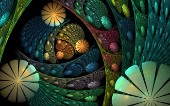 Abstract - Fractal Wallpapers and Backgrounds ID : 523599