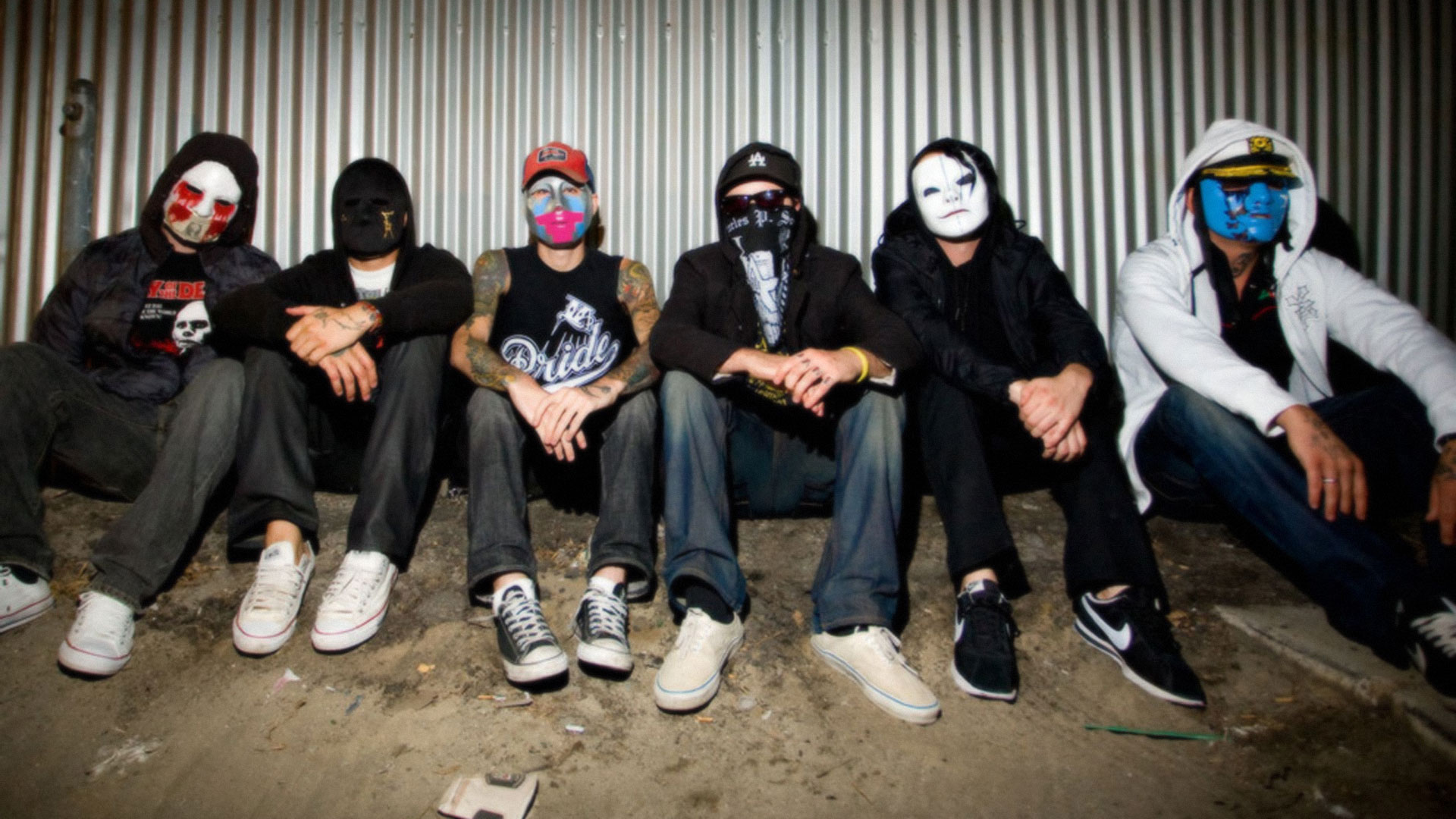 Hollywood Undead Full HD Wallpaper And Background Image