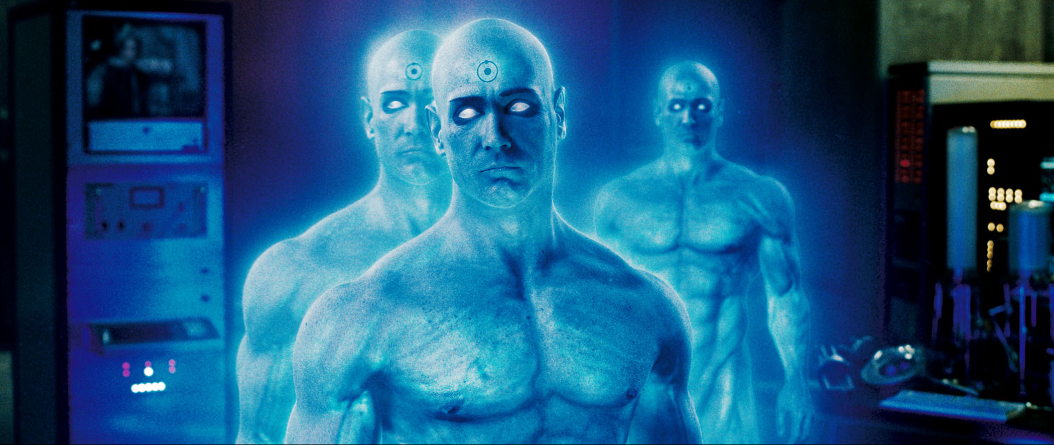Фильм - Хранители  Dr Manhattan Doctor Manhattan Greg Plitt Обои