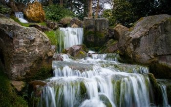 Earth - Waterfall Wallpapers and Backgrounds ID : 524120