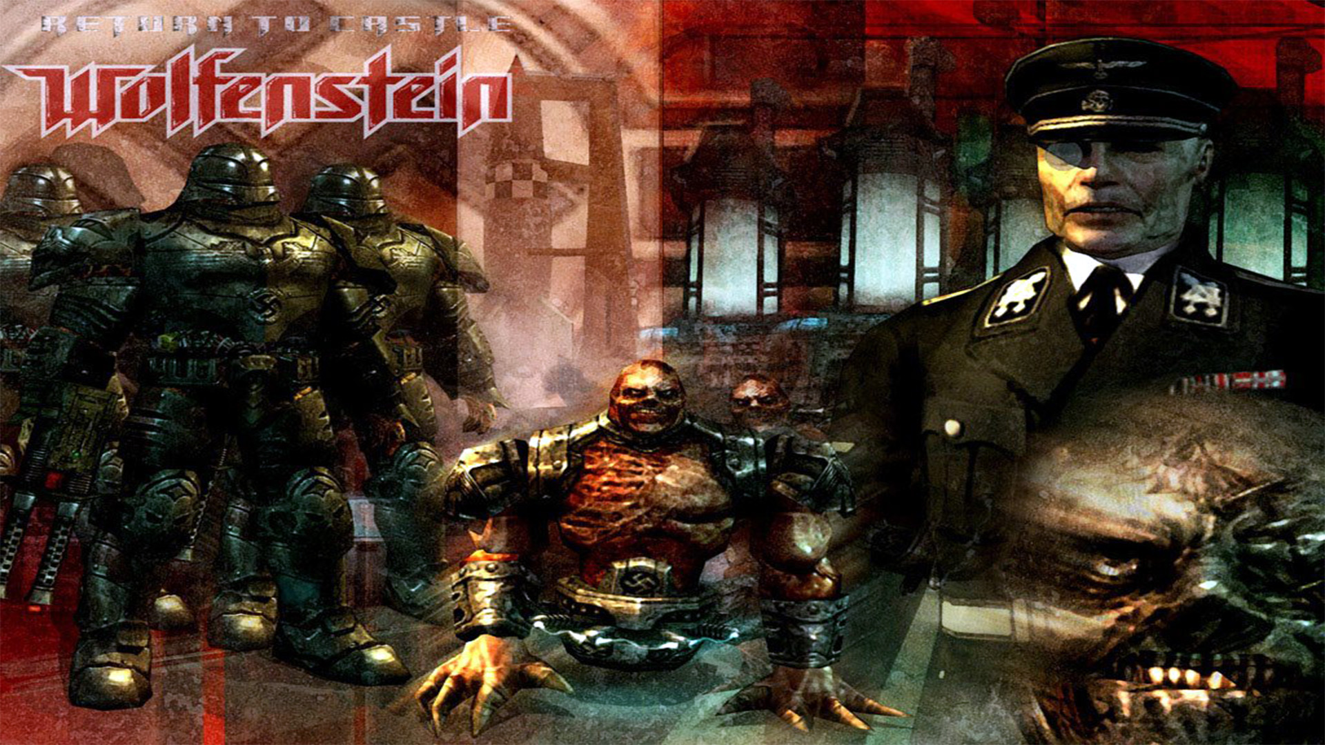 2 return to castle wolfenstein hd wallpapers backgrounds