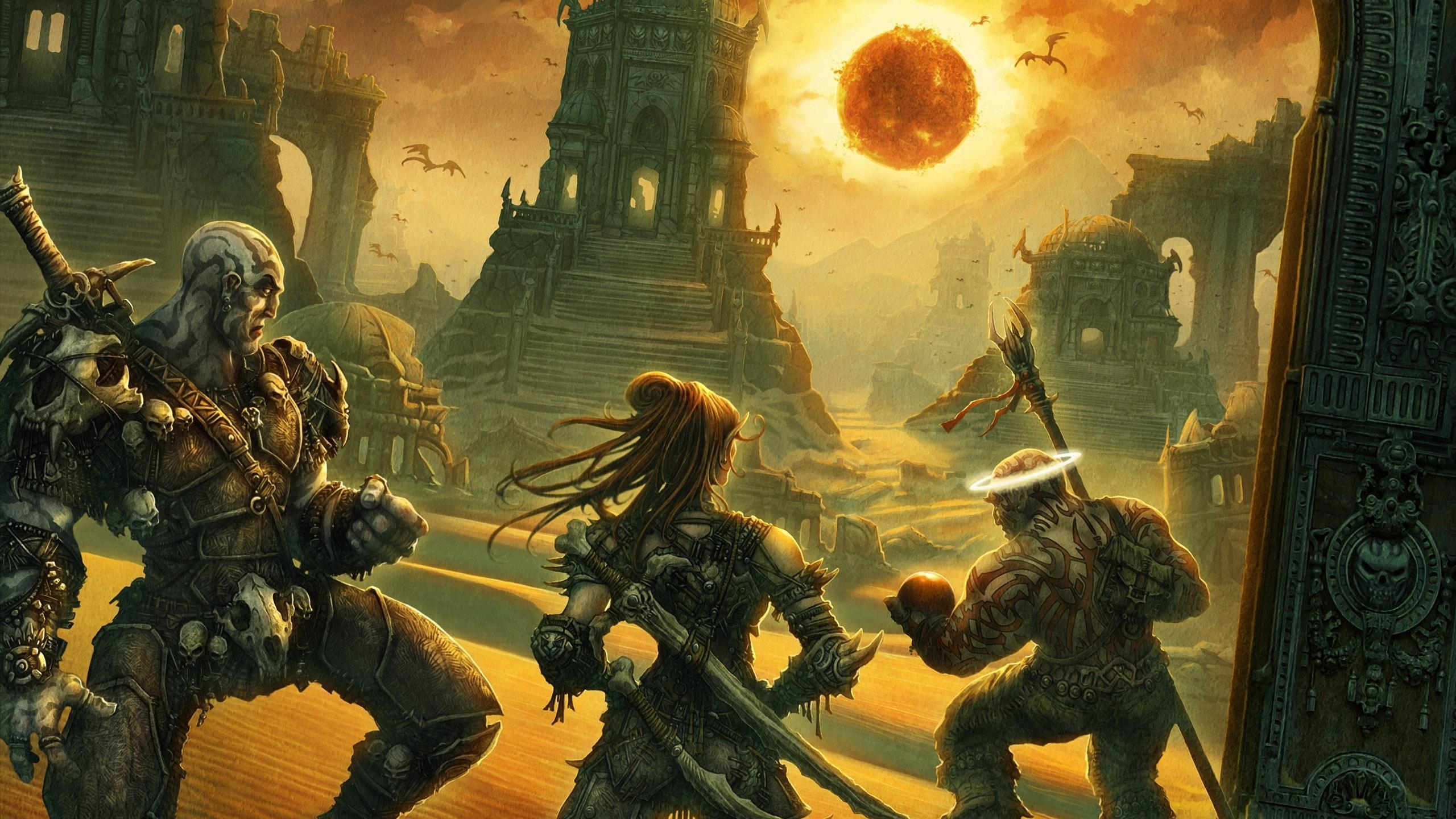 Dungeons Dragons Hd Wallpaper Background Image 2560x1440