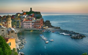 Man Made - Vernazza Wallpapers and Backgrounds ID : 525318