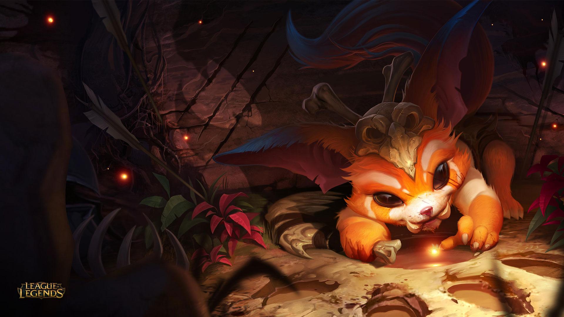 Video Game League Of Legends Gnar Wallpaper | Gamer | Pinterest ...