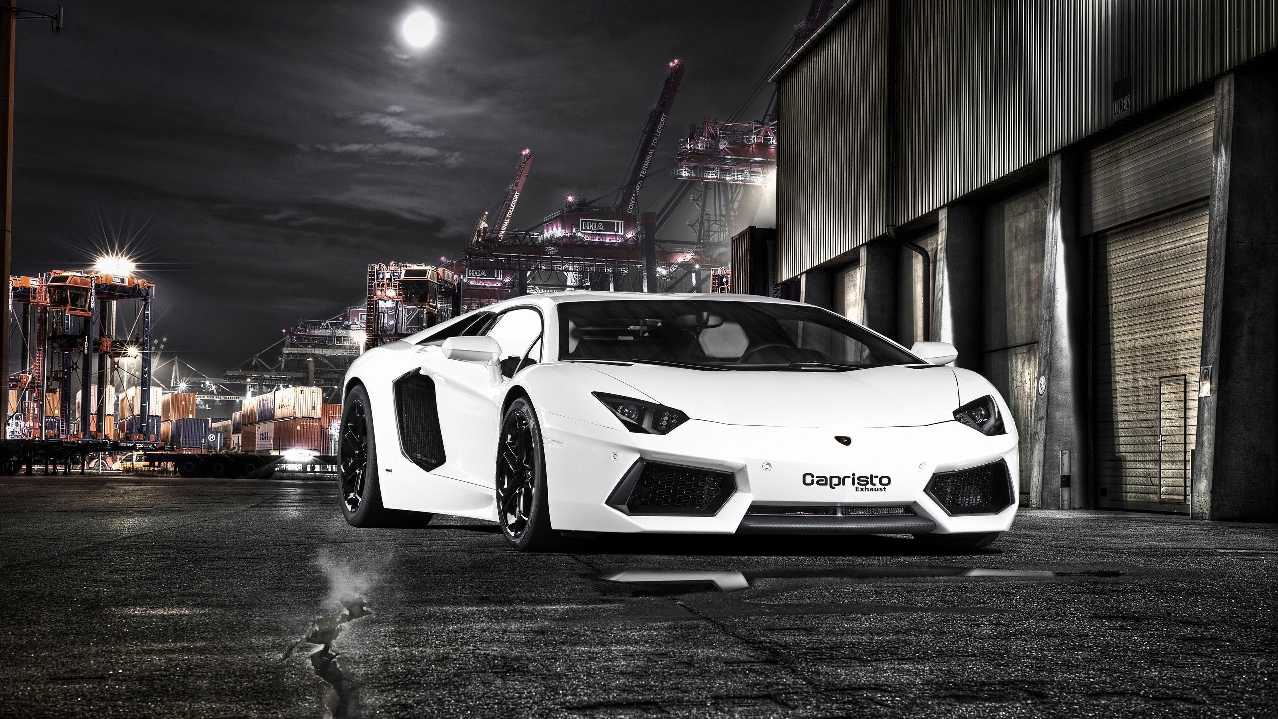 Lamborghini Aventador Full HD Bakgrund and Bakgrund | 2560x1440 | ID