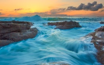 Earth - Wave Wallpapers and Backgrounds ID : 526191