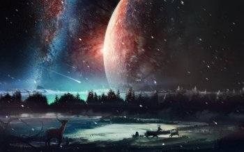 Sci Fi - Landscape Wallpapers and Backgrounds ID : 526205