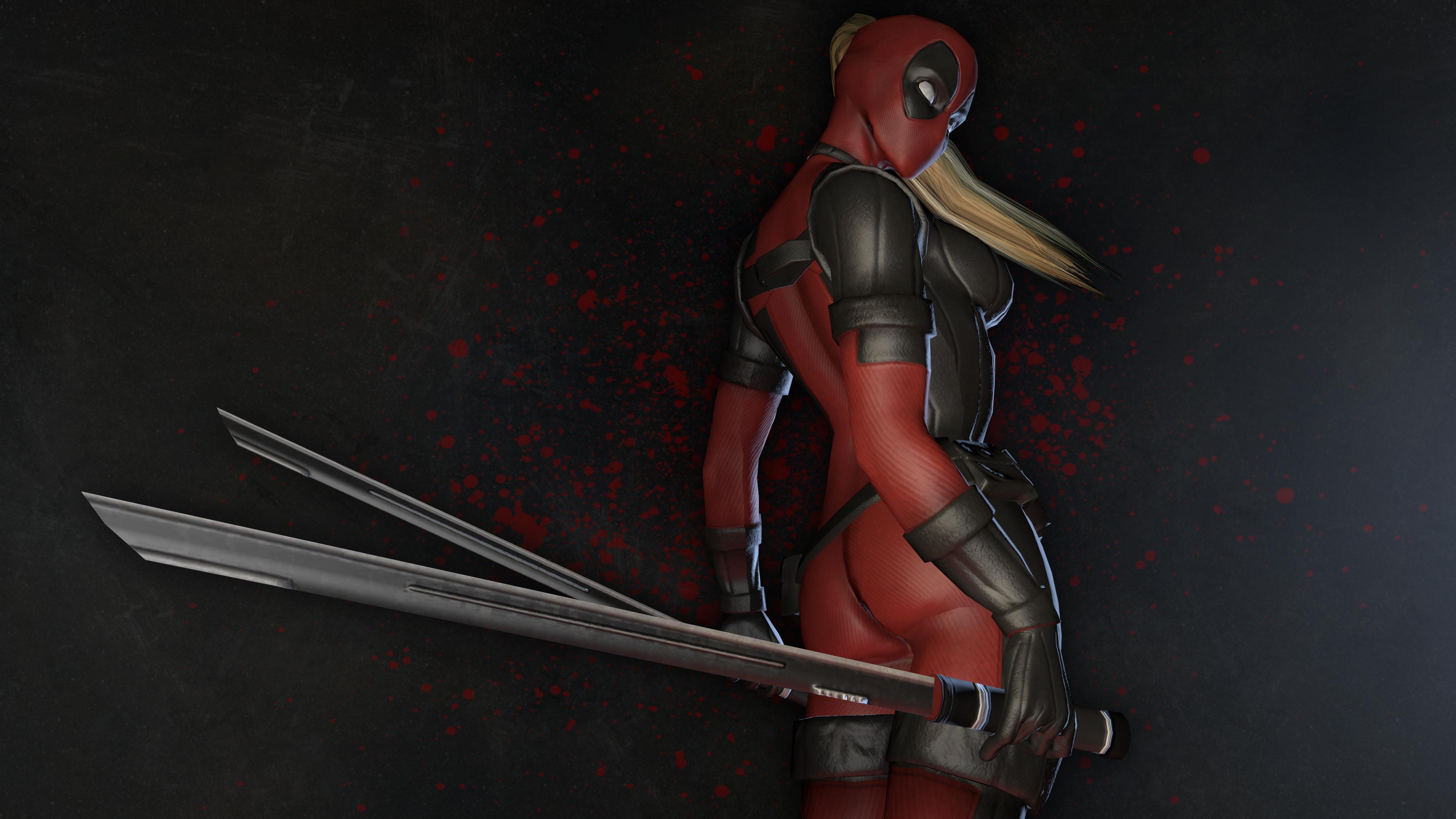 12 Lady Deadpool HD Wallpapers