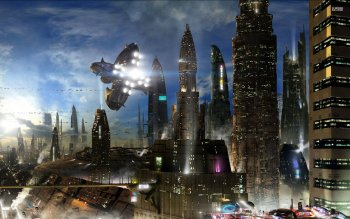 Sci Fi - City Wallpapers and Backgrounds ID : 527920