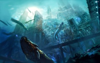 Fantasy - City Wallpapers and Backgrounds ID : 527926