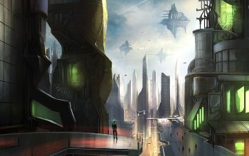 Sci Fi - City Wallpapers and Backgrounds ID : 527928