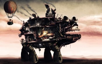 Sci Fi - Steampunk Wallpapers and Backgrounds ID : 529589