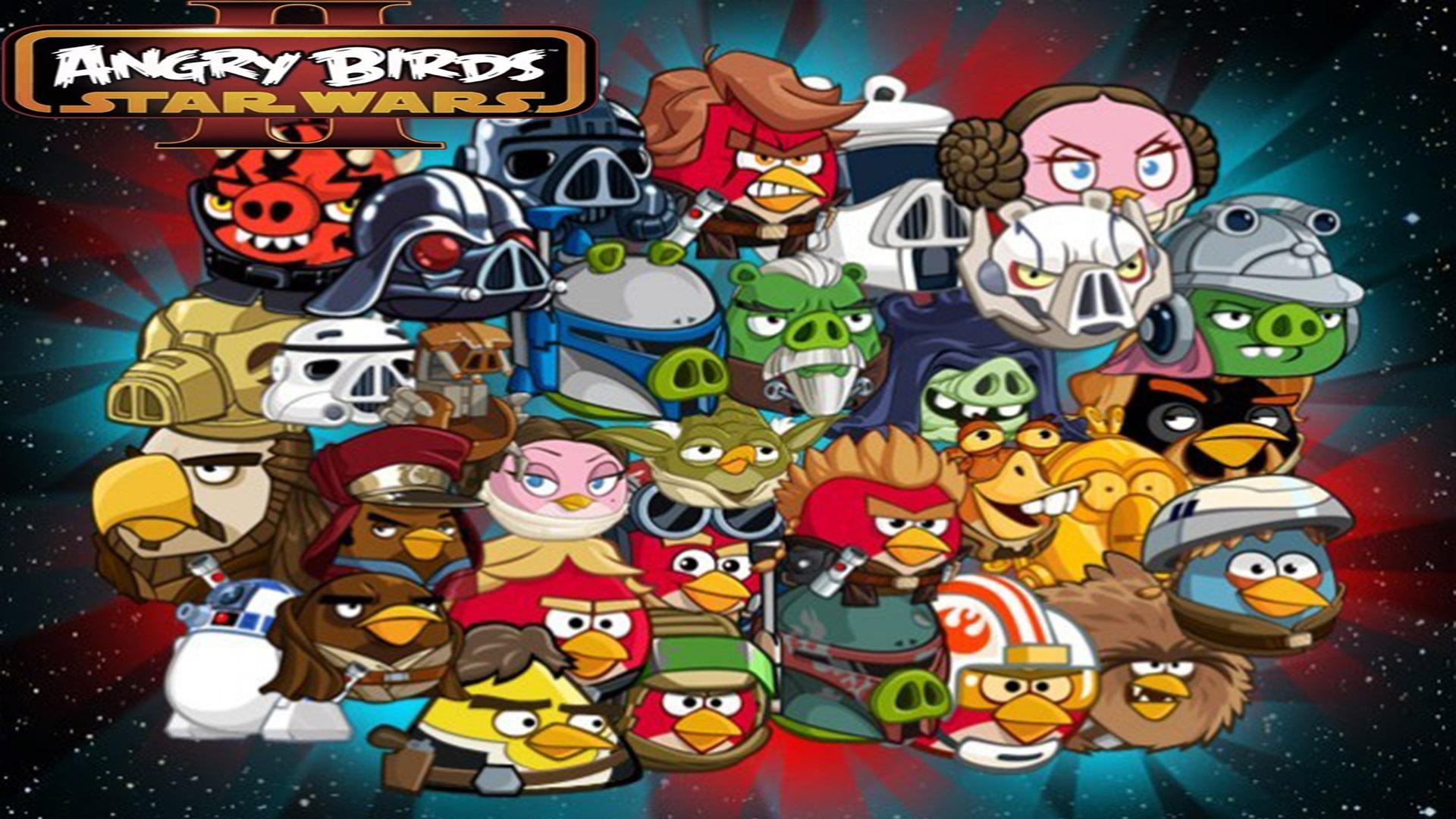 Angry Birds: Star Wars 2 Fonds d'écran HD | Arrière-plans ...