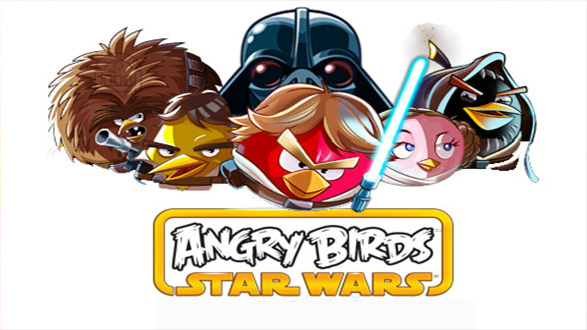 6 Angry Birds Star Wars Hd Wallpapers Background Images