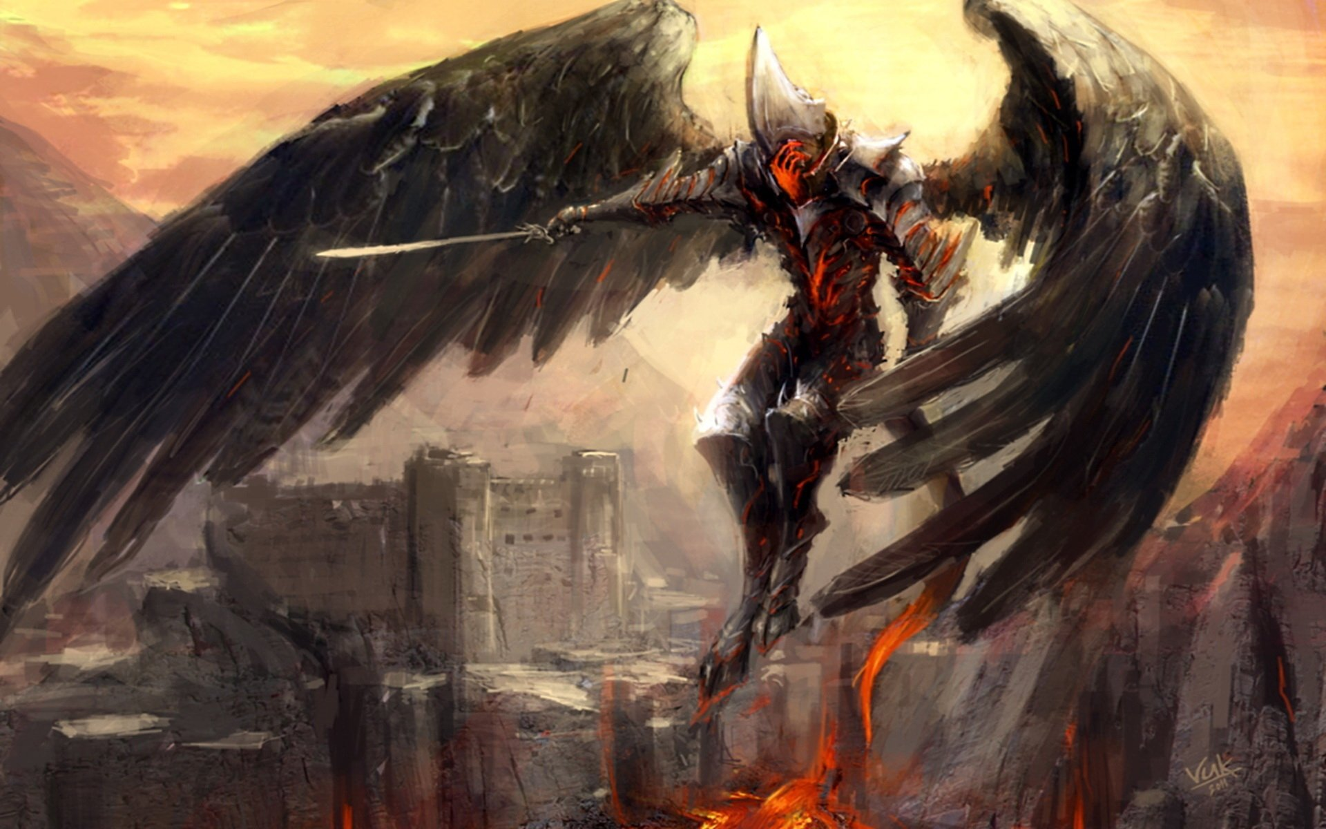 other wallpaper angel warrior - photo #15