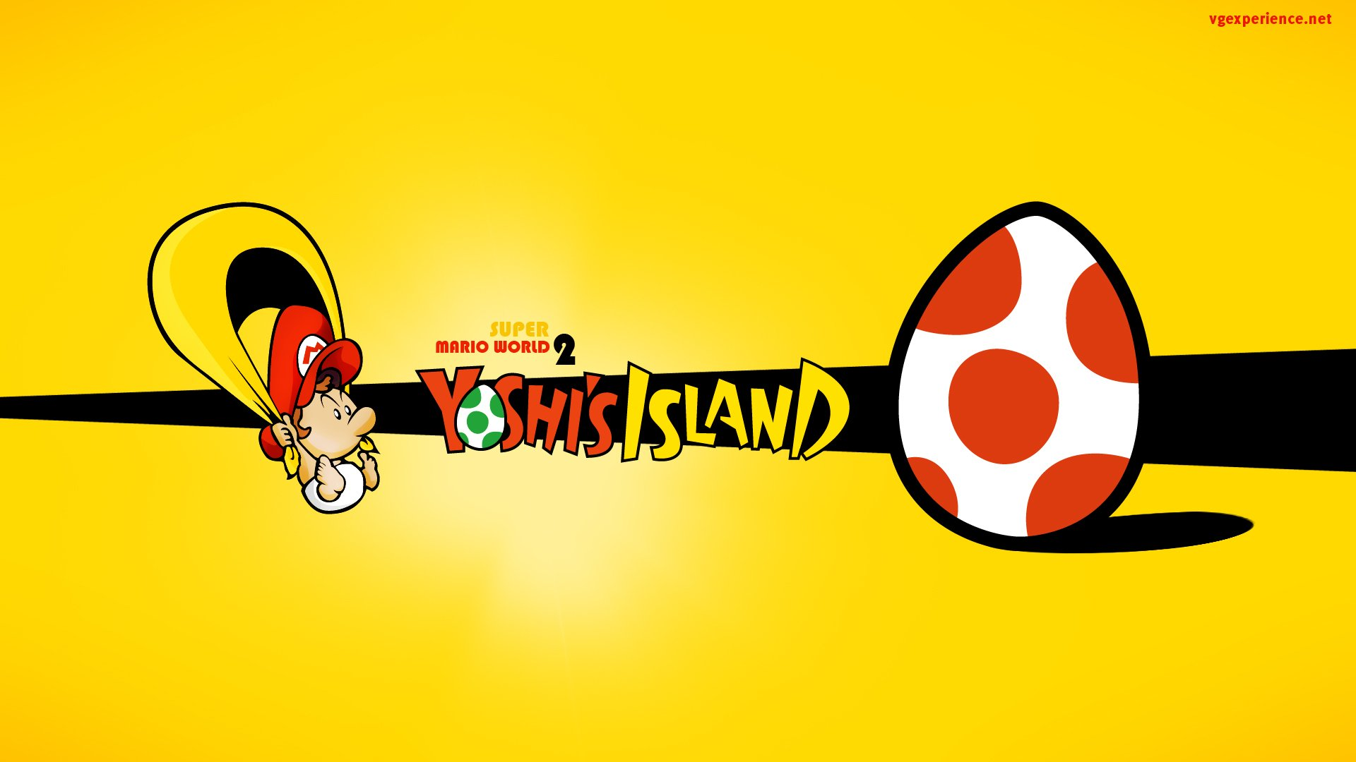 Video Game - Super Mario World 2: Yoshi's Island  Baby Mario Wallpaper