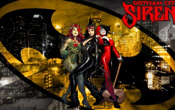 Comics - Gotham City Sirens Wallpapers and Backgrounds ID : 531050