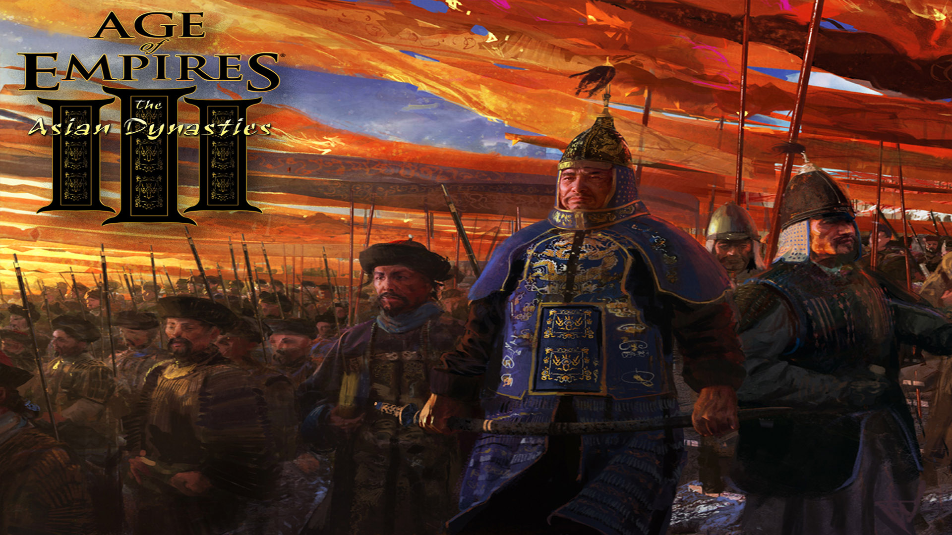 Age Of Empires Wallpaper: Age Of Empires III: The Asian Dynasties HD Wallpaper