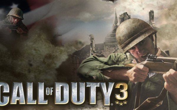 Video Game Call Of Duty 3 Call of Duty HD Wallpaper   Background Image