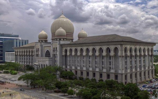 Man Made Palace of Justice (Malaysia) Buildings Kuala Lumpur Malaysia HD Wallpaper   Background Image