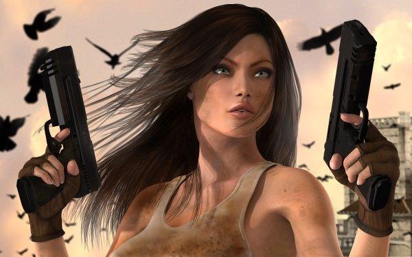 Sci Fi Women Warrior HD Wallpaper | Background Image