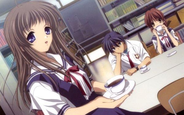 Anime Clannad Yukine Miyazawa Nagisa Furukawa Tomoya Okazaki HD Wallpaper | Background Image