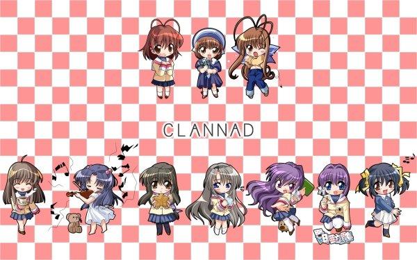 Anime Clannad Nagisa Furukawa Ushio Okazaki Sanae Furukawa Mei Sunohara Ryou Fujibayashi Kyou Fujibayashi Tomoyo Sakagami Fuuko Ibuki Kotomi Ichinose Yukine Miyazawa HD Wallpaper | Background Image