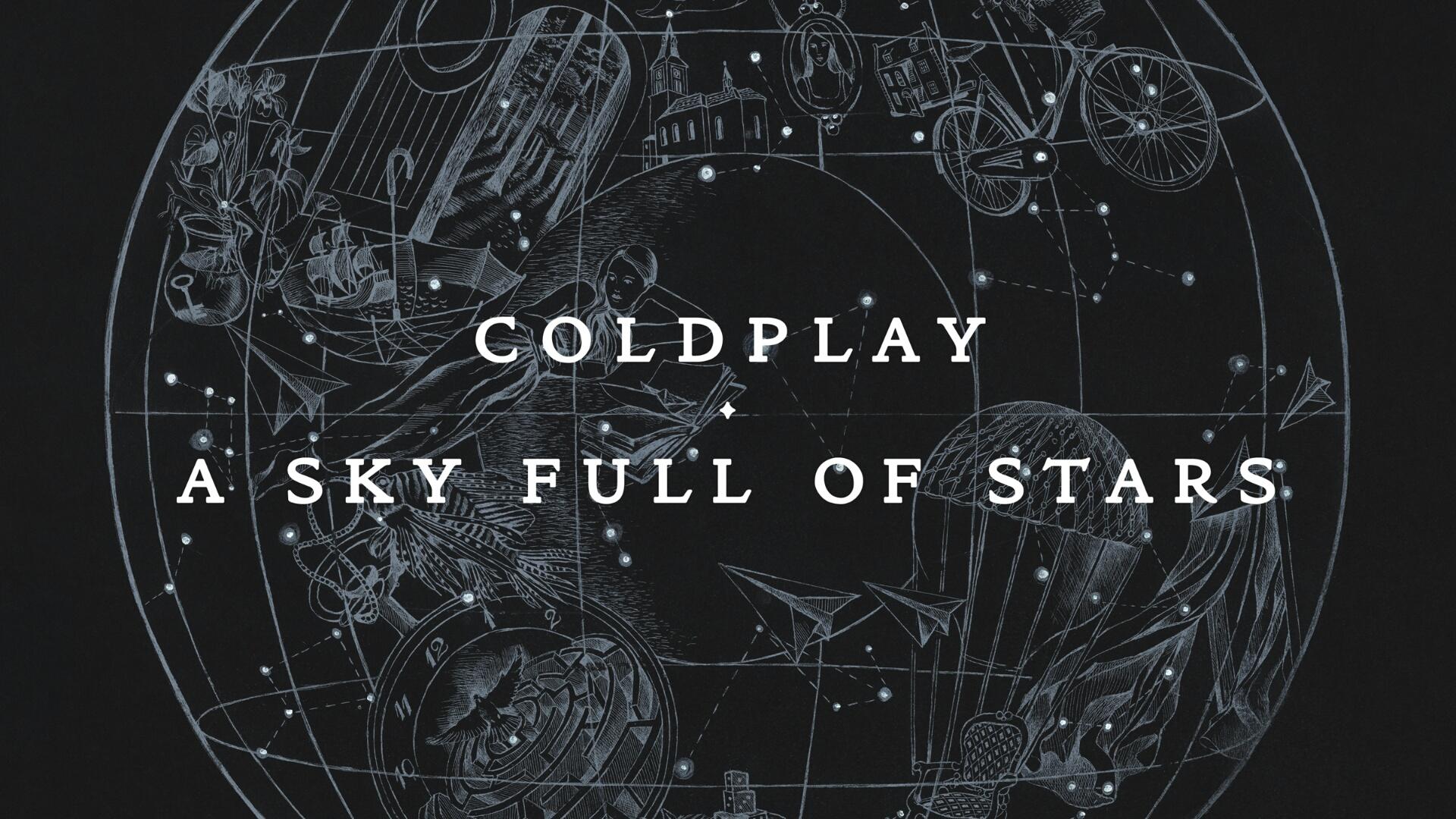 Coldplay - A Sky Full Of Stars Full HD Bakgrund and Bakgrund  1920x1080  ID...