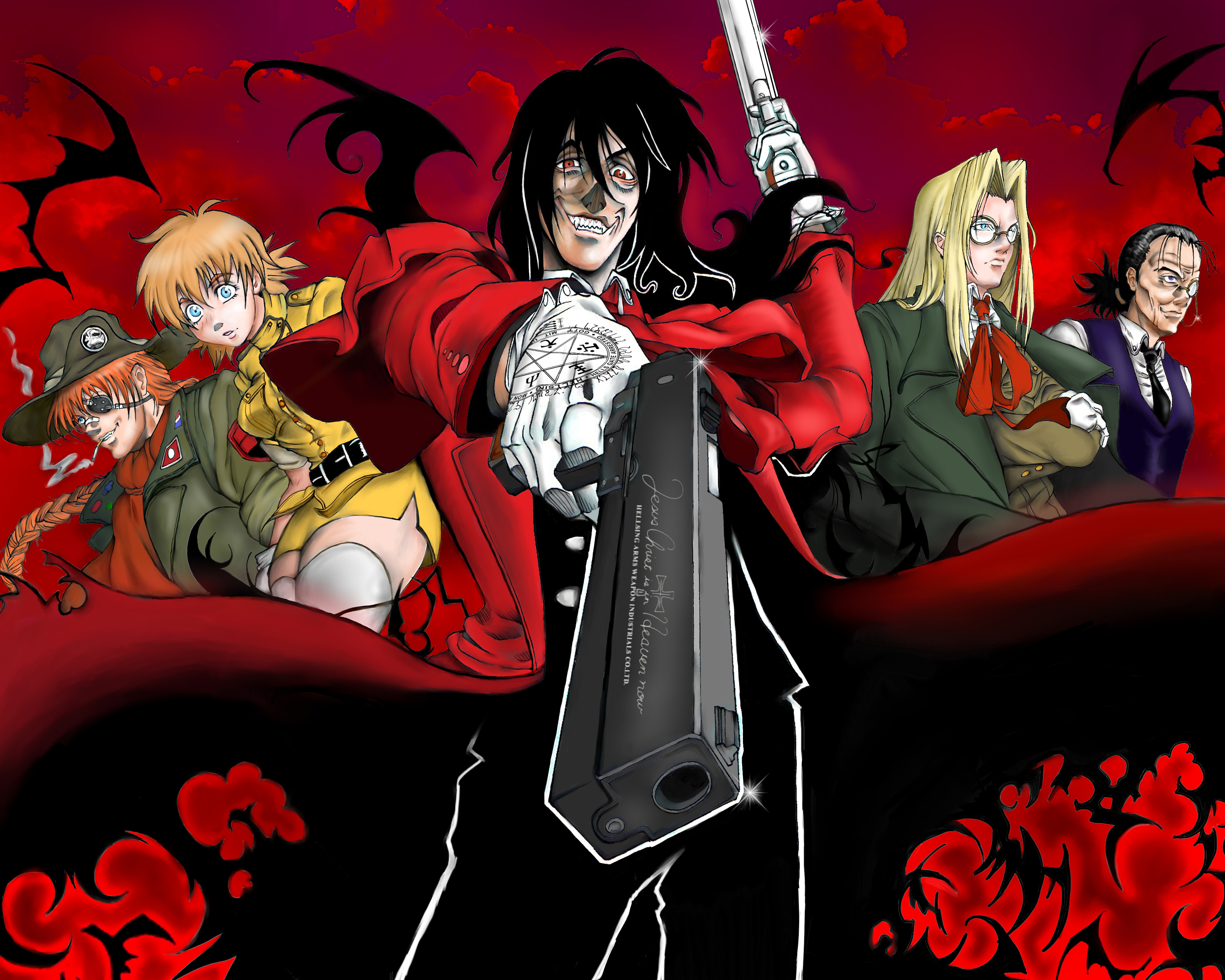 Hellsing 4k ultra hd wallpaper and background image - Anime hellsing wallpaper ...