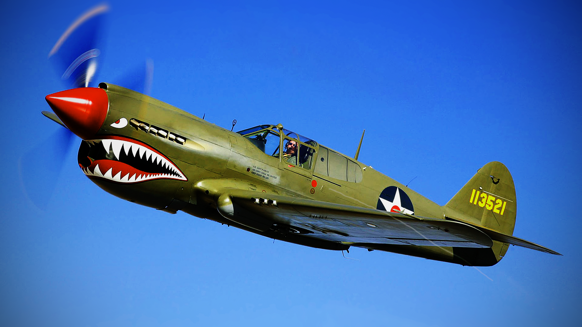 4 Curtiss P-40 Warhawk HD Wallpapers | Backgrounds ...