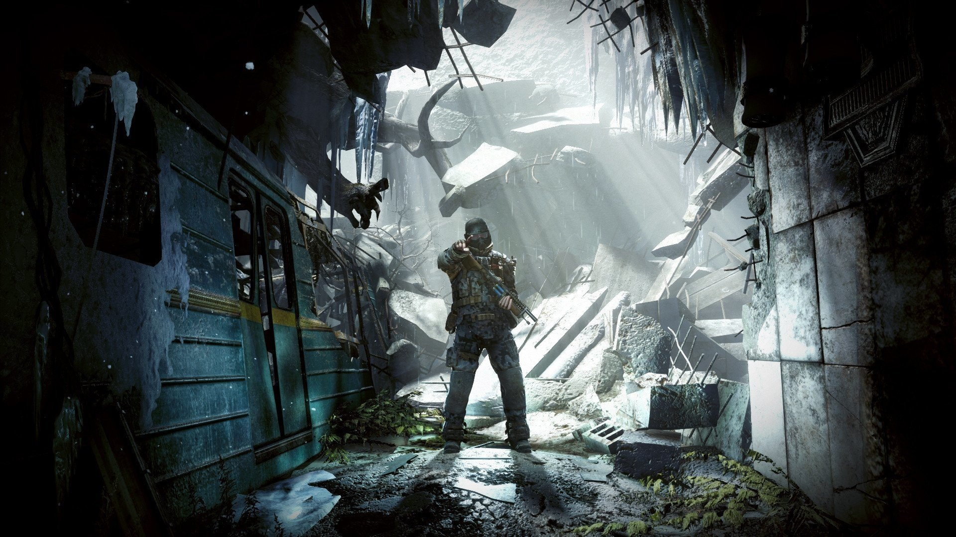 Metro Last Light Redux Full HD Wallpaper And Background Image