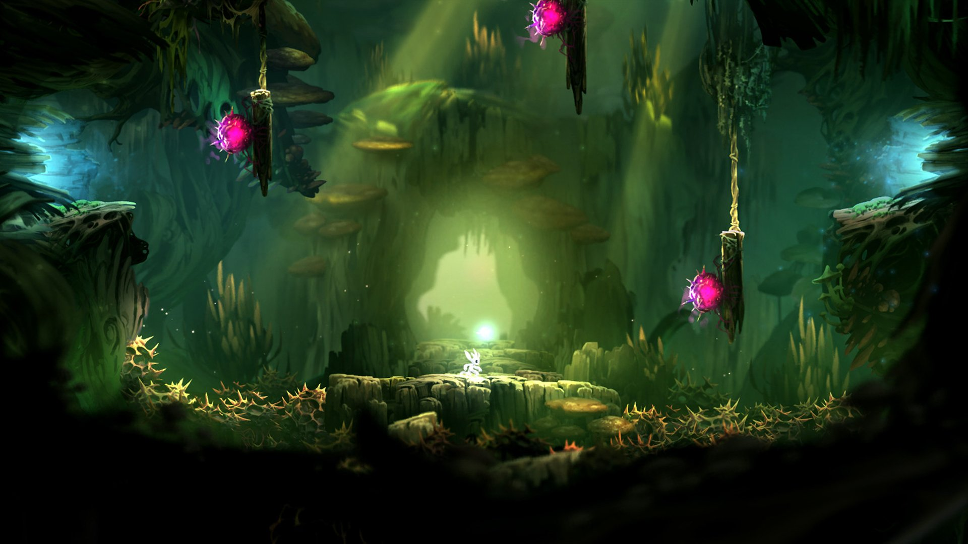 Ori And The Blind Forest Hd Wallpaper: Ori And The Blind Forest Full HD Wallpaper And Background
