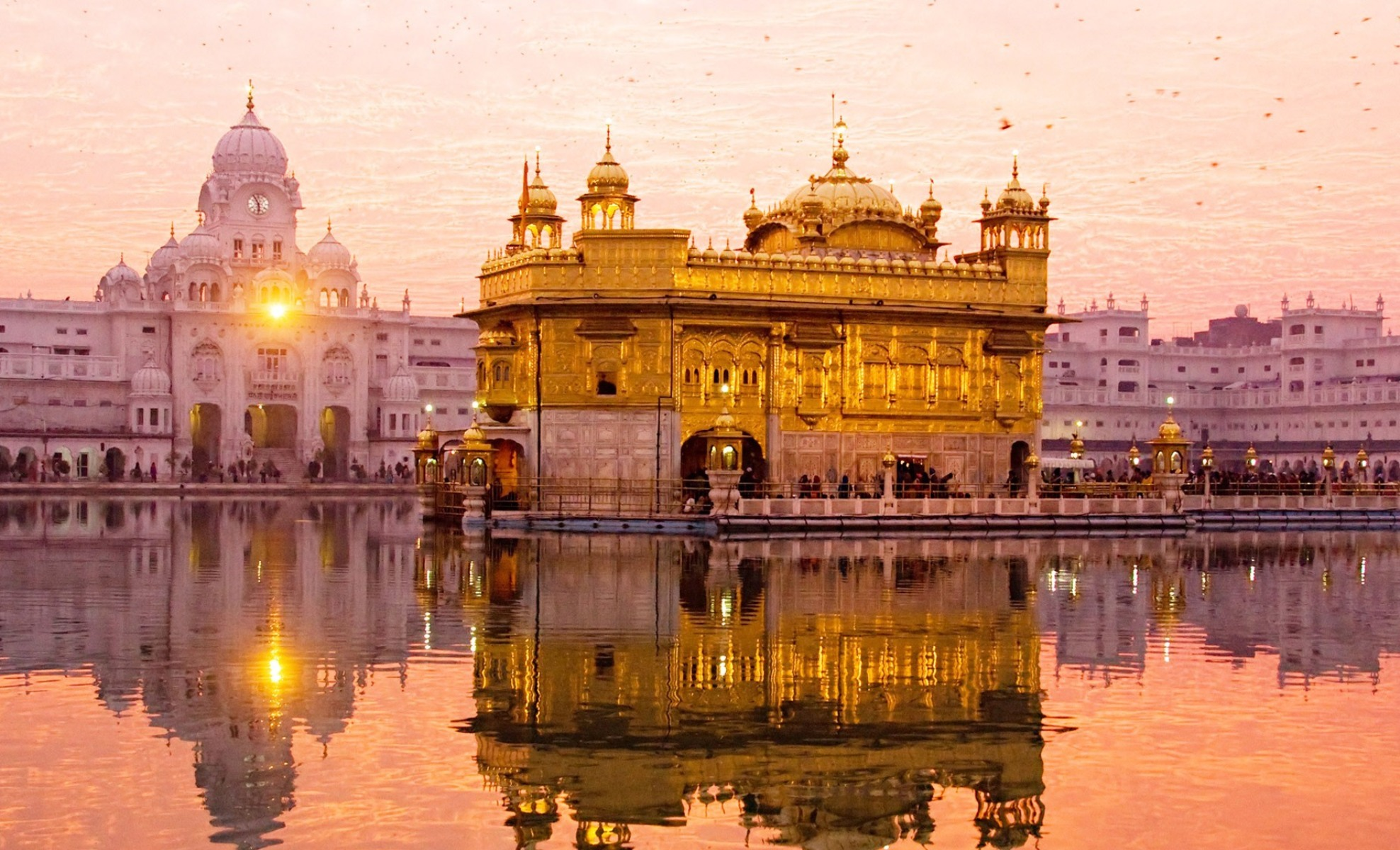 hamandir sahib the golden temple,amritsar,punjab hd wallpaper