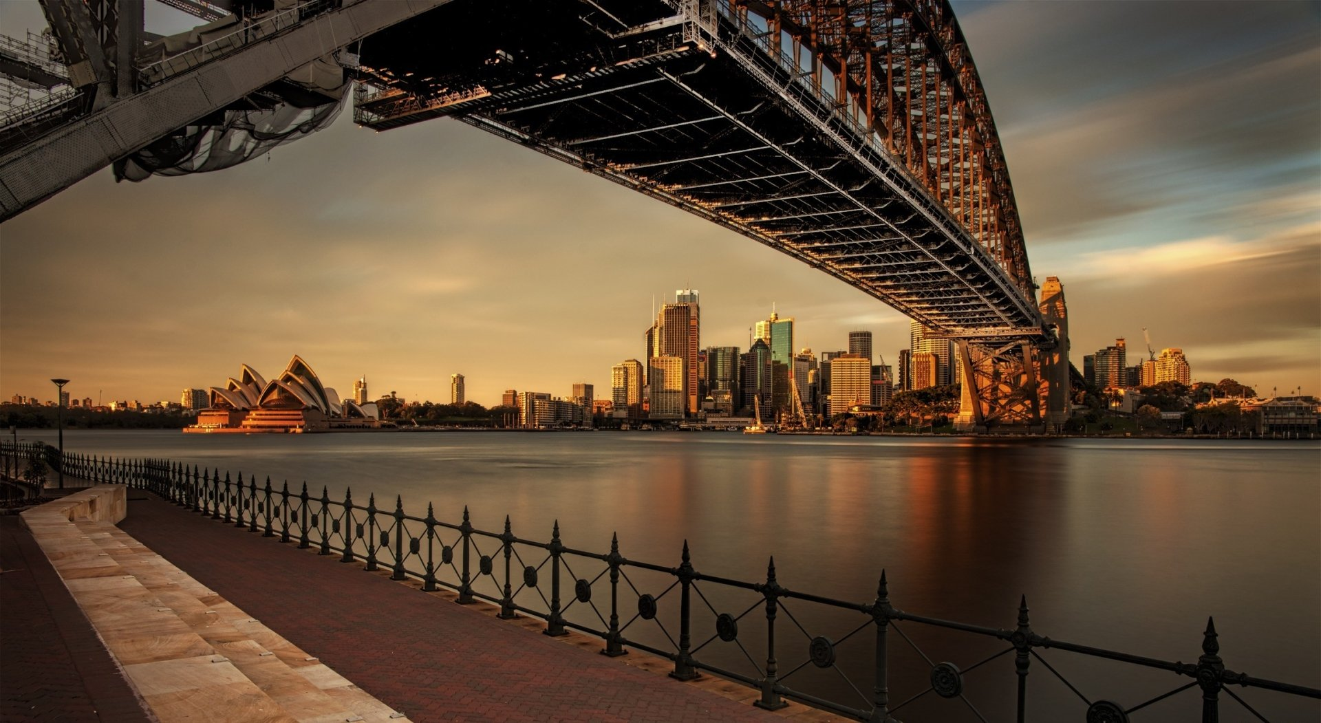 View Of Sydney Harbour From Milsons Point HD Wallpaper ...