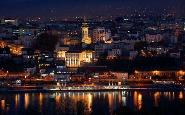 Man Made Belgrade Cities Serbia Danube HD Wallpaper | Background Image