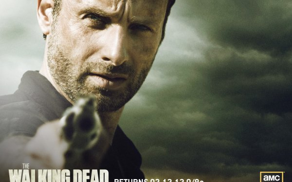 TV Show The Walking Dead Rick Grimes Andrew Lincoln HD Wallpaper   Background Image