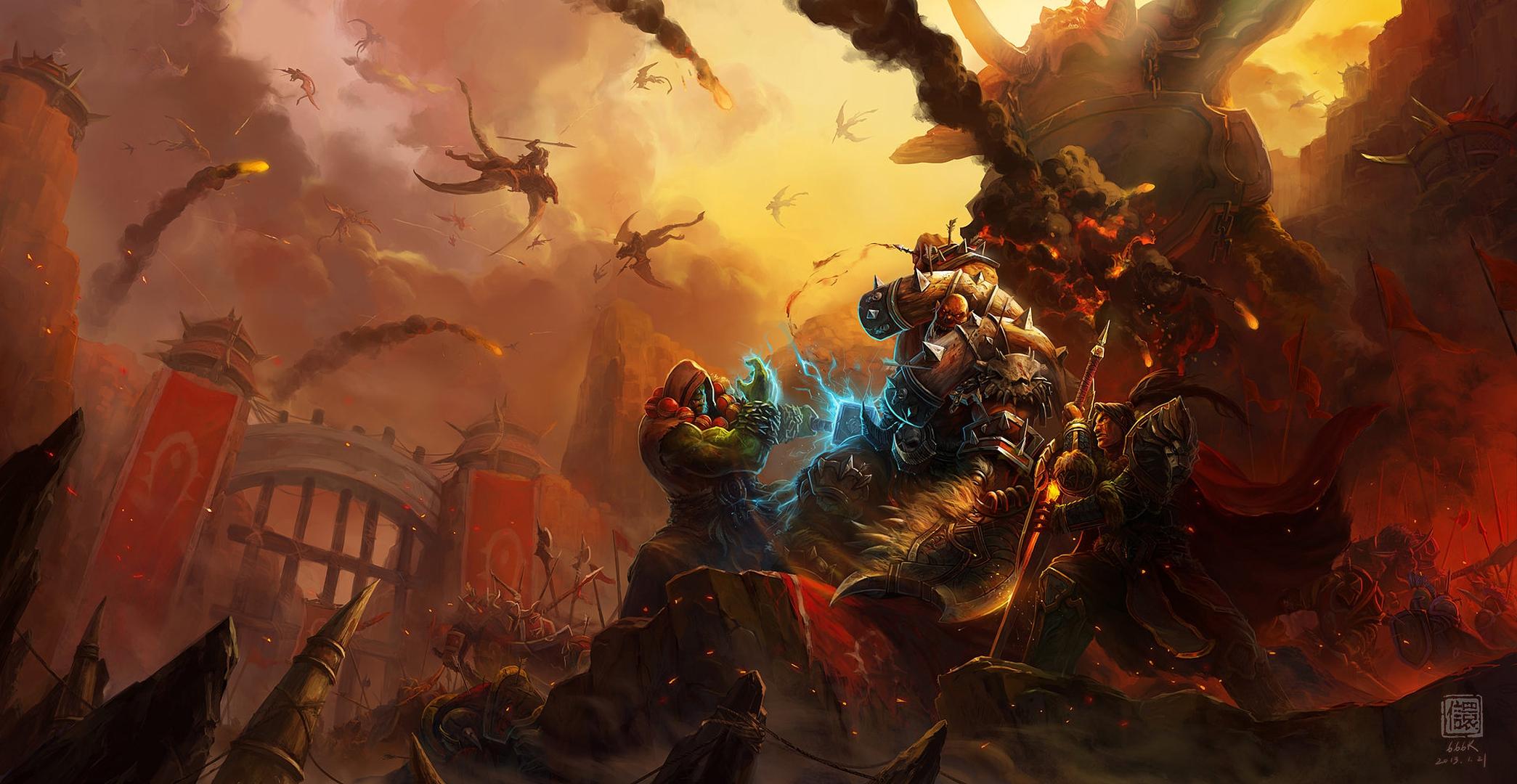 World Of Warcraft The Dark Portal Uhd 4k Wallpaper: World Of Warcraft Full HD Fond D'écran And Arrière-plan