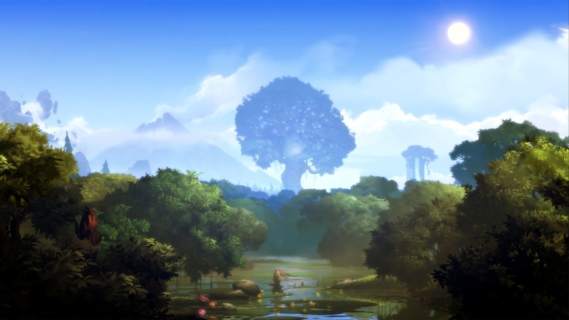 Ori And The Blind Forest Hd Wallpaper: Ori And The Blind Forest Fond D'écran And Arrière-Plan