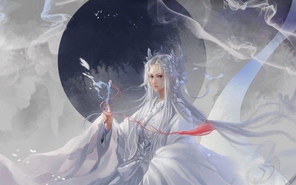 Fantasy Women Calligraphy HD Wallpaper | Background Image