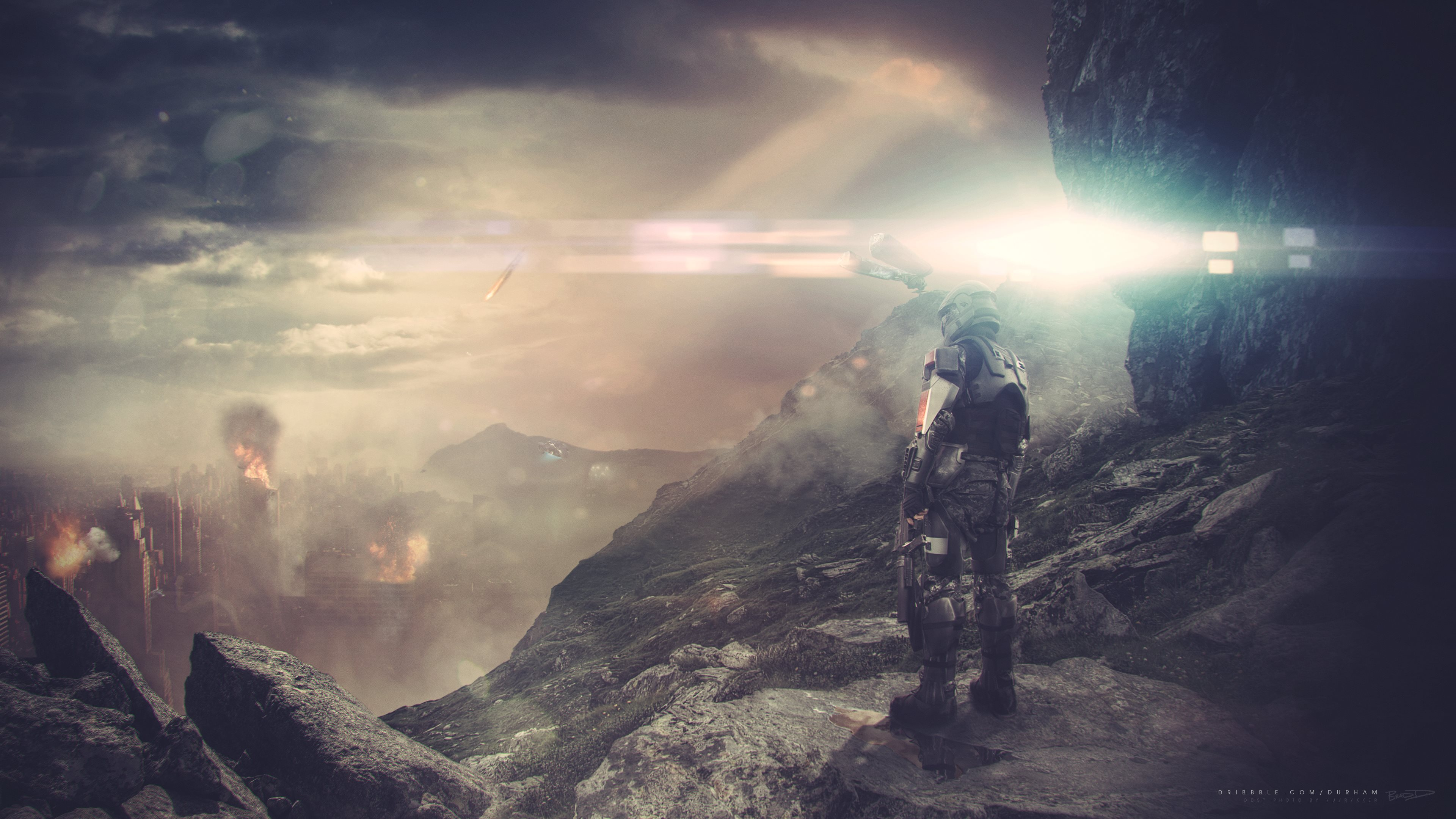 Halo 3 Odst 4k Ultra Hd Wallpaper Background Image