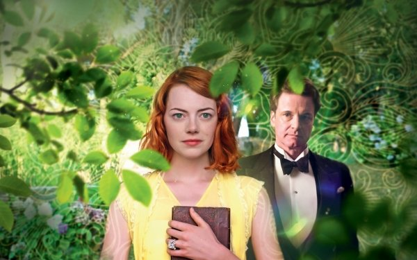 Movie Magic In The Moonlight Romantic Emma Stone Colin Firth HD Wallpaper | Background Image